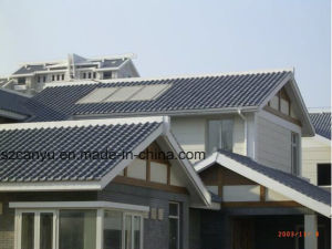 Heat Insulation Roofingtileplastic Roof Resin Tiles pictures & photos
