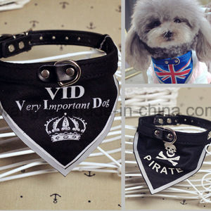 Promotional Custom Logo Design Printed Pet Dog Bandana with Collar pictures & photos