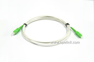 Sc/APC-Sc/APC Sm/mm Om3 Simplex Armored Patchcord pictures & photos