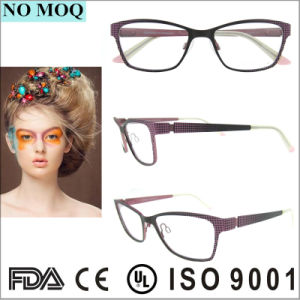 Customized Antique Full Rim Stainless Optical Eyeglasses Frames pictures & photos