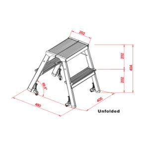 Different Models of Simple Step Ladder Step Stool Footstool Stools pictures & photos