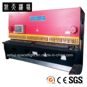 QC12K-8X6000 CNC Hydraulic Swing Beam Shearing and Cutting Machine