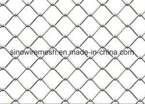 Galvanized Iron Wire Mesh PVC Coated Chain Link Mesh Fence pictures & photos
