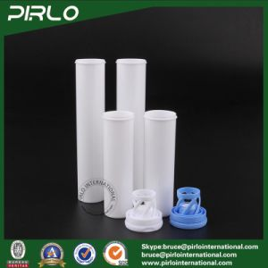 Pharmaceutical Plastic Tubes Effervescent Tablet Pill Bottle with Spring Cap pictures & photos