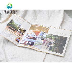 Matte Laminated Paper Printing Promotional Folded Catalogue/Booklet pictures & photos