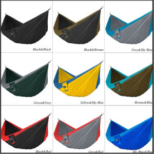 OEM Custom Canvas Suspended Hanging Camping Hammock pictures & photos