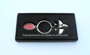 Fashion Custome Metal Bird Shape Keychain with Black Gift Box BPS0171 pictures & photos