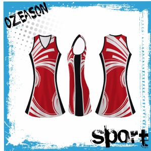 China Hot Sale Cheap Custom Team Netball Uniforms pictures & photos