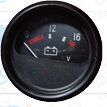 """3/8"""" 60mm Voltmeter Gauge 8V-16V pictures & photos"""