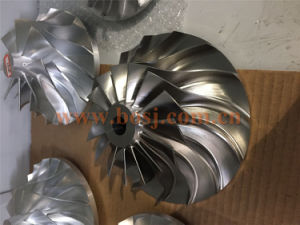 Forged 5 Axles CNC Fully Machined Billet Compressor Wheel pictures & photos