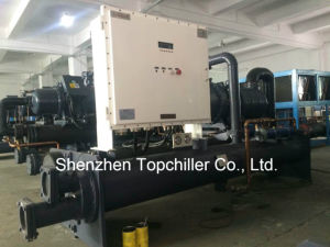 80rt PLC Controlled Water Cooled Screw Chiller for Medical Process pictures & photos