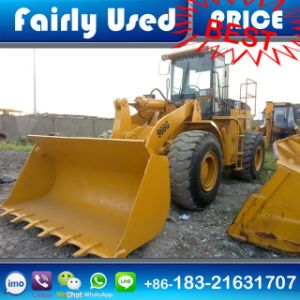 Used Cat 966g Shovel Loader with Wood Grab for Sale