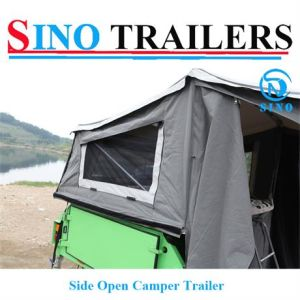 Soft Floor Side Opening off Road Camper Trailer