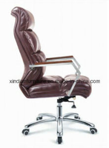 Export Modern Ergonomic Metal Leather Boss Chair in Office pictures & photos