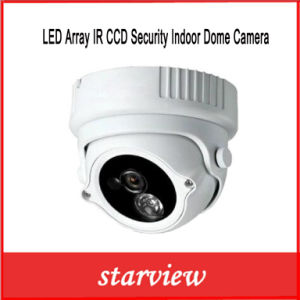 LED Array IR CCD Security Indoor Dome Camera (SV60-D1960M) pictures & photos