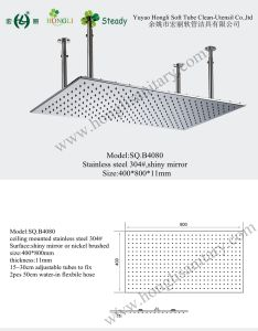 500*1000mm Ceiling Mounted Rainsky Shower Head pictures & photos