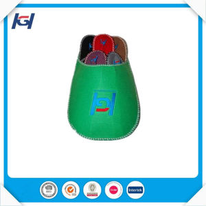 Cheap Disaposable Soft Felt Guest Slippers Set pictures & photos