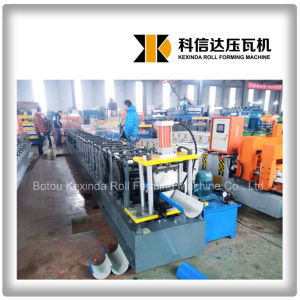 Kxd Aluminium Gutter Roll Forming Machine pictures & photos