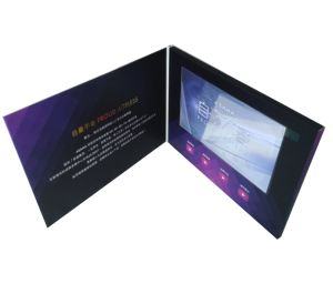 7inch Screen Video Brochure for Car Advertising pictures & photos