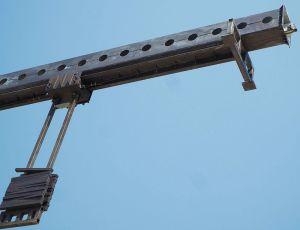 Ios90001double Jib Building Mmaintenance Unit Bmu pictures & photos