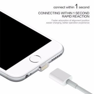 2.4A Magnetic Cable Micro USB Data Cable for Apple iPhone 6 5 5s 6s Plus Charging Cable Android pictures & photos