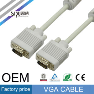 Sipu Male to Male VGA Cable Conputer Audio Video Cables pictures & photos