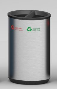 Outdoor Waste Bin for European Market with Good Quality (HW-506) pictures & photos