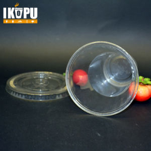 Disposable Biodegradable Plastic Cups for Cold Beverage pictures & photos