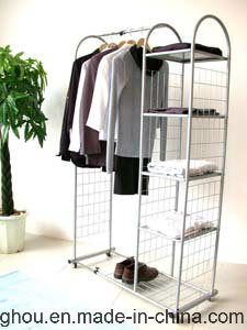 Exquisite Garment Clothes Store Supermarket Home Use Furniture Display Rack pictures & photos