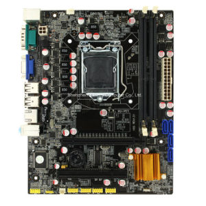 Hm55 LGA 1156 Computer Motherboard with 2*DDR3 pictures & photos