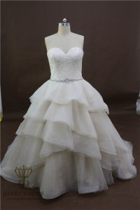 China Custom Made Hot Sale Vintage Lace A-Line Wedding Dresses 2017 Bridal Wedding Gowns pictures & photos