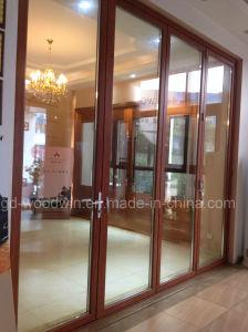 Customized Made Double Glazed Lowe Glass Balcony Folding Door/Bifolding Door pictures & photos