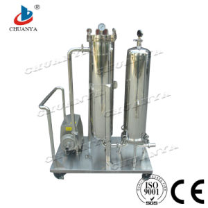 Customized Fluid Equipment Cartridge Filter Housing with Pump pictures & photos