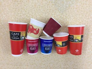 Disposable Customized Single/Double/Ripple Wall Paper Cups for Coffee/Juice/Tea pictures & photos