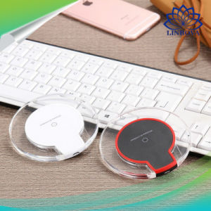 Fast Charging Wireless Charger Pad Wireless Phone Charger Receiver for Samsung iPhone pictures & photos