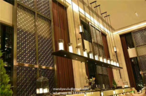 Decorative Stainless Steel Laser Cut Metal Screen Interior Wall Panel pictures & photos