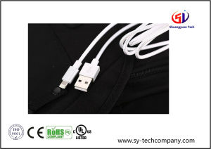 Nylon Braided 8 Pin Lightning to USB Charging Cable Cord pictures & photos