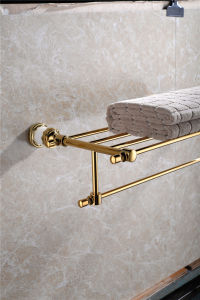 New Design Zf-561 Double Towel Bar Jade Bathroom Accessory pictures & photos