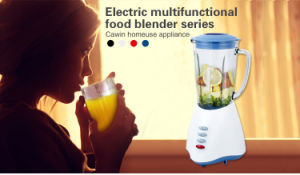 Glass Jar 2 in 1 Powerful Low Noise Electric Blender pictures & photos