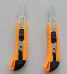 Auto Replacement Safety Carbon Steel Utility Knife pictures & photos