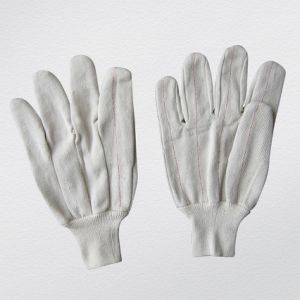 Two Layers Thick Canvas Cotton Anti-Heat Glove (2110) pictures & photos