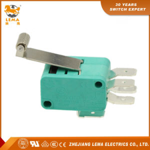 Lema Kw7-2II Long Roller Lever CCC Ce UL VDE Double Micro Switch pictures & photos