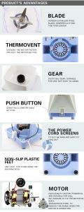 242 New Design 248 Model Mini Juicer Plastic Blender pictures & photos