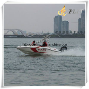 Fashion Small Speed Boat with Outboard Engine pictures & photos