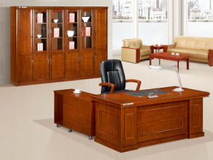 Antique MDF Furniture Wooden Office Boss Executive Desk pictures & photos