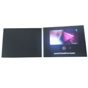 "Customized 7"" Digital Video Greeting Card pictures & photos"