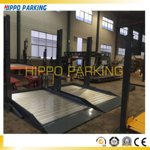 Vertical Parking Machine/2 Pillars Car Parking Hoist pictures & photos