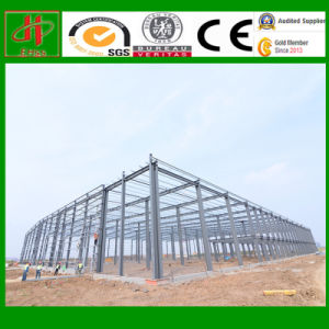 High Quality Diaphanous Prefabricated Steel Structure Workshop pictures & photos