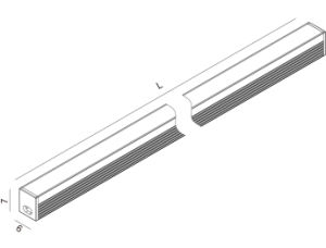 Indoor LED Strip Lighting Bar pictures & photos