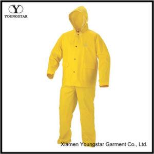 Cheap Two-Piece Adult PVC Rainsuit / Rain Suit pictures & photos